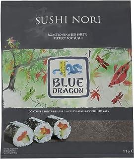 Blue Dragon Sushi Nori Roasted Seaweed, 11 g