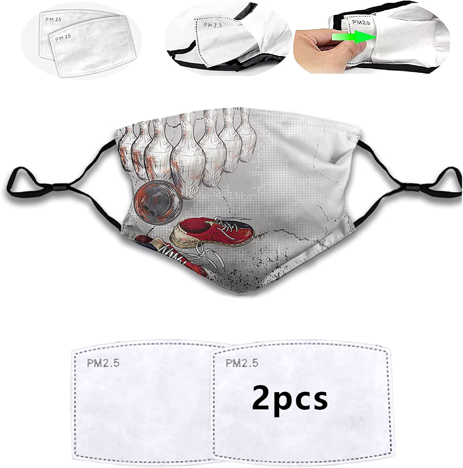 Reusable Face Mask Balaclava Washable Outdoor Nose Mouth Cover for Unisex 1PCS