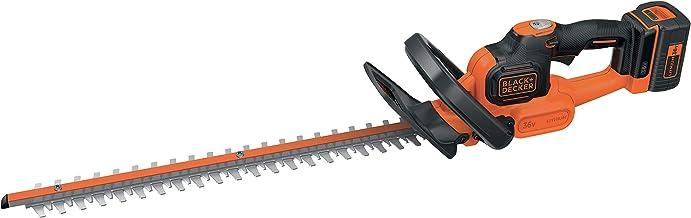 BLACK+DECKER GTC365525PC-QW Accu-heggenschaar, 22 mm, 36 V, oranje, 55 cm