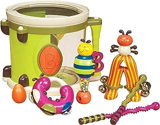 B. toys – Parum Pum Pum – Batterie pour enfant avec 7 Instruments musicaux - 18 mois et plus (7 articles)
