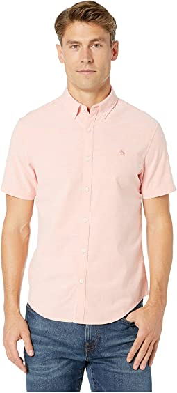 Short Sleeve Core Stretch Oxford Woven Shirt