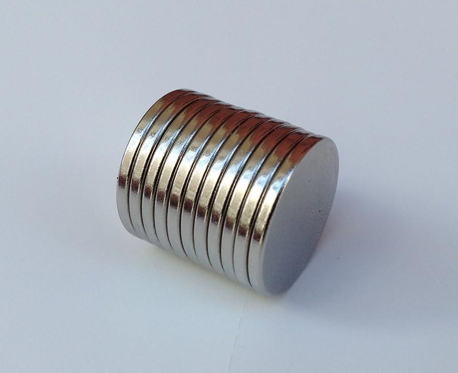 サラミ同じずらす超強力 磁石 20x2mm 10個 セットネオジウム 小型 丸型 最強 強力 DIY 釣り レジャー スポーツ 手芸 工芸 工作 趣味 など  【kj065】