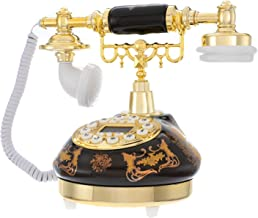Sponsored Ad - Antique Telephone,One-Key Redial and Caller ID Function Retro European Landline Old-Fashioned Digital Fixed... photo