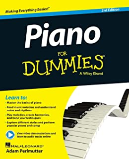 Piano For Dummies, Book + Online Video & Audio Instruction