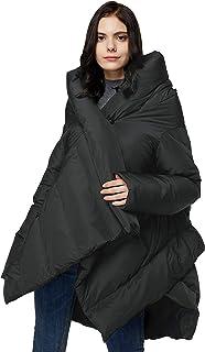 Orolay Abrigo de Plumón Aislado para Mujer Chaqueta Acolchada Tipo Capa