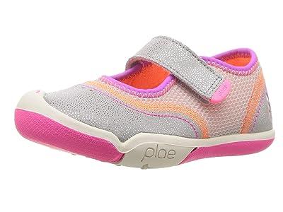 PLAE Emme (Toddler/Little Kid) SINGLE SHOE (Silver/Pink) Girl
