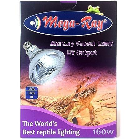 Mega-Ray Mercury Vapor Bulb - 160 Watts (120V)