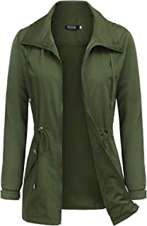 Best womens army green spring jacket Reviews
