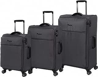 IT LUGGAGE The Lite - Anti Theft Luggage Set, Pewter