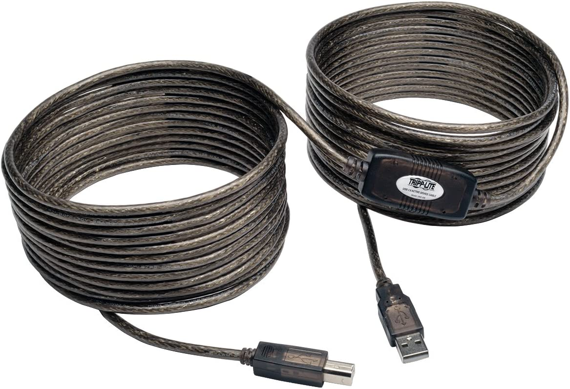 OMNIHIL 15 Feet Long High Speed USB 2.0 Cable Compatible with EPSON XP-400 C462A