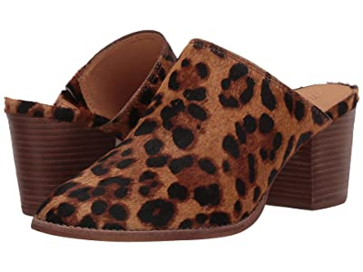 Madewell Harper Mule (Truffle Multi Leopard Haircalf) Women