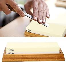 Knivslipsten, bekväm dubbelsidig slipsten, för grillkniv/jakkniv, mejsel/knivfickkniv/sax, slaktkniv/knivkniv,