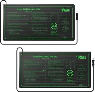 iPower GLHTMTSX2 2-Pack Durable Waterproof Seedling Mat 10