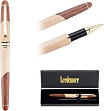 Handcrafted Rosewood Ballpoint Pen, Smooth and Easy Writing for Signature Calligraphy Executive Business Extra 1 black ink refill in Gift Box