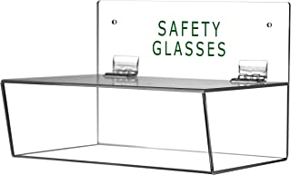 Cq acrylic Safety Glasses Holder with Lid,3