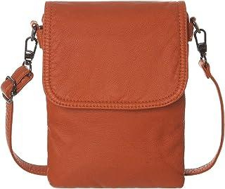 AOCINA Small Crossbody Cell Phone Purse Wallet Card Slots Small Crossbody Phone Bags for Women(Orange2)
