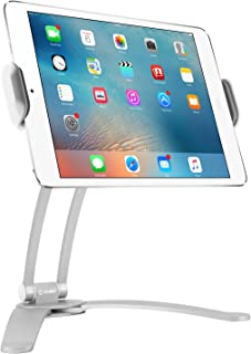 Cellet Kitchen Tablet Mount Stand 2-in-1 Kitchen Wall/TableTop Desktop Mount recipe Holder Stand For 7 to 13 Inch Tablet fits 2017 iPad Pro 12.9/9.7/Air/Mini, Surface Pro