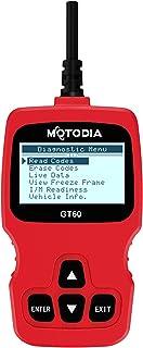 MotoDia GT60 OBD2-Diagnosegerät zum Auslesen & Löschen von Fehlercodes, für Autos ab Baujahr 1996