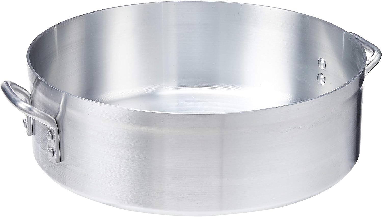 Winco USA Super Aluminum Braizer 24 70% OFF Popular popular Outlet Heavy Quart Weight Alumin
