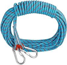 JF-XFTS Outdoor klimtouw energiesnoer noodgevallen reddingskabel afsluittouw nylon scheurvast snoer - 10,5 mm diameter, blauw