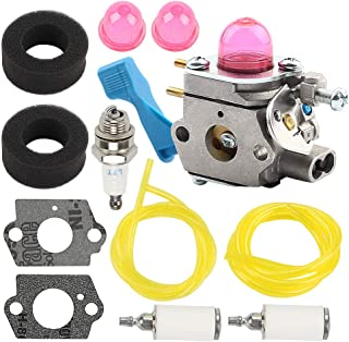 Savior C1U-W13 Carburetor Air Filter Fuel Line for Poulan Weed Eater GHT220 GHT220LE GHT180 GHT180LE GHT195LE GHT225LE DAHT22 25HHT Hedge Trimmer 530071633