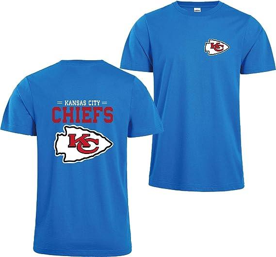 ZXTXGG KC Kansas City Chiefs NFL - Maglietta con Stampa Digitale ...
