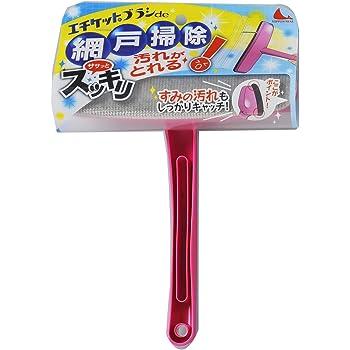 エチケットブラシde網戸掃除 ピンク N47
