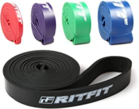 RitFit Pull Up Assist Band - Premium Resistance Band for Pull Up Assistance, Resistance Training, Body Stretching, Powerlifting, Mobility Training
