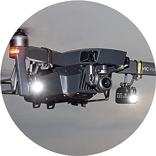 Roboterwerk M.O.N.A. Mavic Silver Edition: LED Light kit for DJI Mavic Pro/Platinum (Dual)