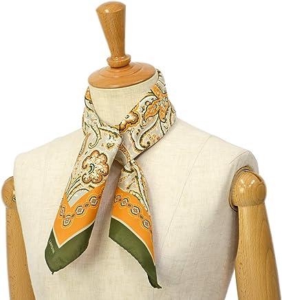 [LARDINI【ラルディーニ】]スカーフ JPFOU7/EG52169/910 シルク ペイズリー オレンジ