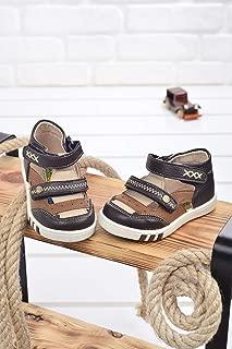 Kiko Şb 2244-49 Ortopedik Erkek Çocuk İlk Adım Ayakkabı Sandalet Kahverengi