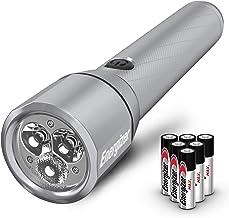 مصابيح LED من إنرجايزر عدد 700-1300 لومن مرتفع، مقاومة للماء IPX4، مصباح تكتيكي معدني بدرجة الطائرات الهوائية، خيار بطاريا...
