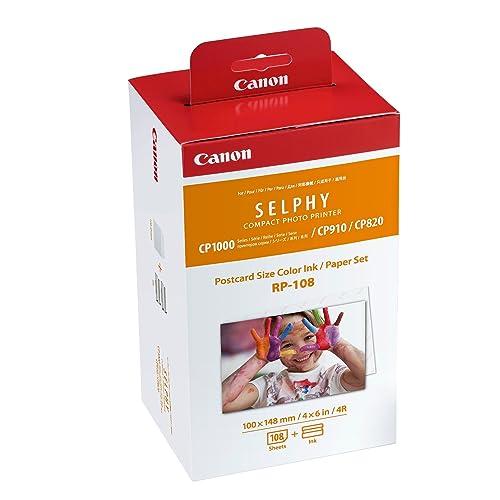 Canon - Jeu d'encre RP-108 pour Selphy - 108 tirages