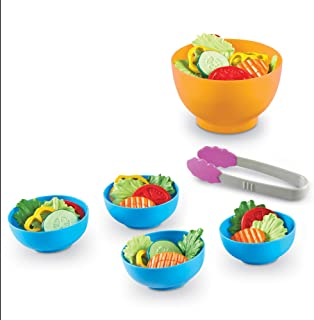 Learning Resources Garden Fresh Salad Set, Vegetables, Play Food, 38 Piece Set, Ages 2+