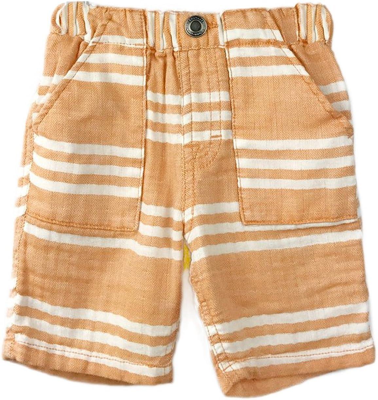 BITZ KIDS discount Big Boys' Shorts Stripe Gauze quality assurance