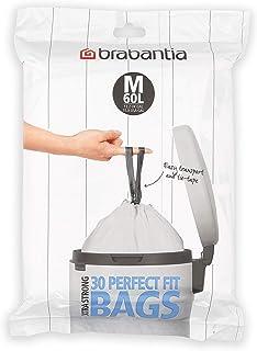 Brabantia PerfectFit Vuilniszak code M, 60 Liter, 30 stuks/dispenser pack