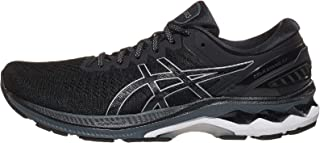 ASICS Men's Gel-Kayano 27 (4E) Running Shoes, 13XW, Black/Pure Silver