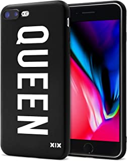 a111782899 iPhone 7 Plus Case Queen Slim Fit Black Shockproof Bumper Cheap Cell Phone  Accessories Queen &