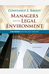 Managers and the Legal Environment: Strategies for the 21st Century Hardcover