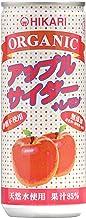 光食品 オーガニックアップルサイダー+レモン 250ml×30本