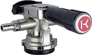 Kegco KT41D-LP Keg Coupler, D System, Nickel