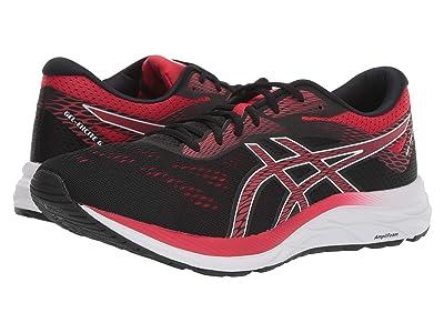 ASICS GEL-Excite(r) 6 (Black/Speed Red) Men