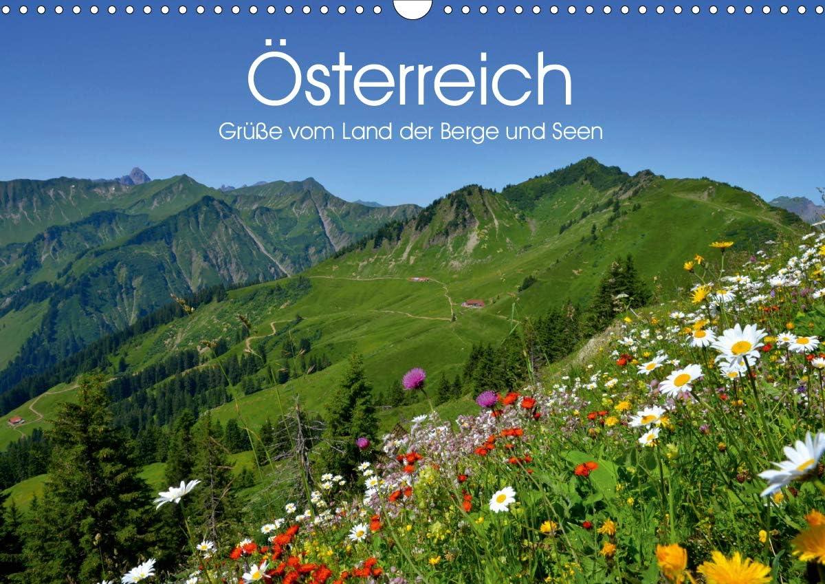 Österreich. Grüße Ranking TOP11 vom Max 67% OFF Land der und Berge Wandkalender Seen 2021