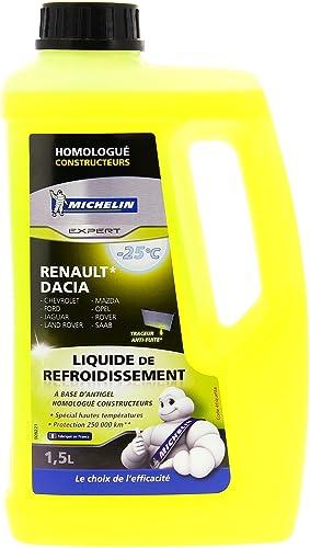 MICHELIN 009221 Liquide de Refroidissement Homologué Renault, 1,5 L