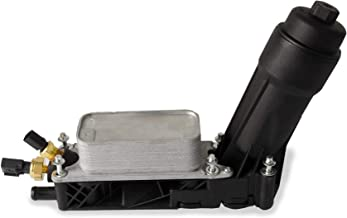 Engine Oil Cooler Filter Assembly For 2011 2012 2013 Chrysler Dodge Jeep 3.6L V6 Oil Filter Adapter Housing Assembly 5184294AE (Model A)