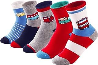Baby Toddler Little Boys Children Fashion Cotton Crew Socks Gift Set