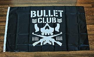 Montree Shop Bullet Club Flag Black Flag Banner Wrestling WWE WWF NCW