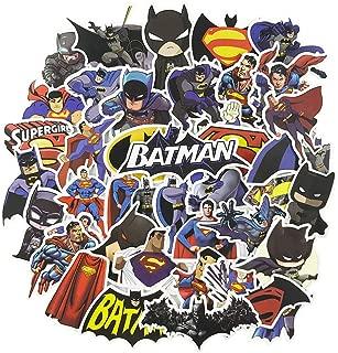 Batman Laptop Stickers 45pcs, Cool Kids/Teen Vinyl Computer Waterproof Water Bottles Skateboard Luggage Decal Graffiti Patches Decal (The Dark Knight)
