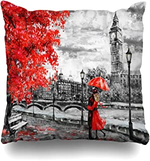 Soopat Decorative Throw Pillow Cushion Cover 18
