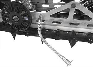 Duraflex, 1401-HR, Hi-Roller Snowmobile Ice & Snow Scratchers Reverse Compatible +2